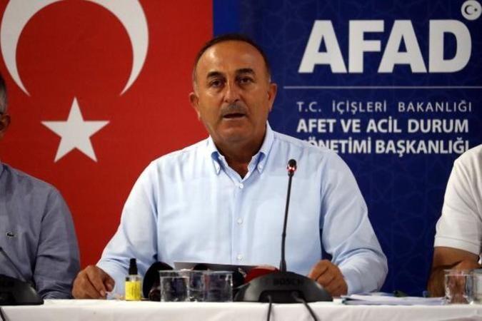 Dışişleri Bakanı Çavuşoğlu'ndan Manavgat'ta Önemli Açıklamalar