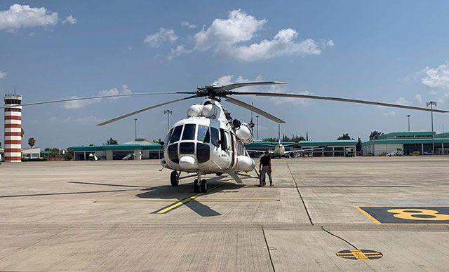THY orman yangınlarıyla mücadele için iki helikopter kiraladı