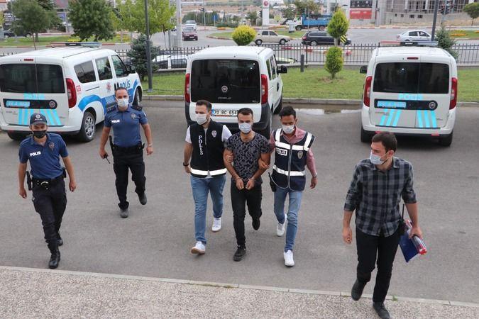 Karaman'da kayınvalidesini öldürüp, eşi ve kayınbiraderini yaralayan zanlı tutuklandı