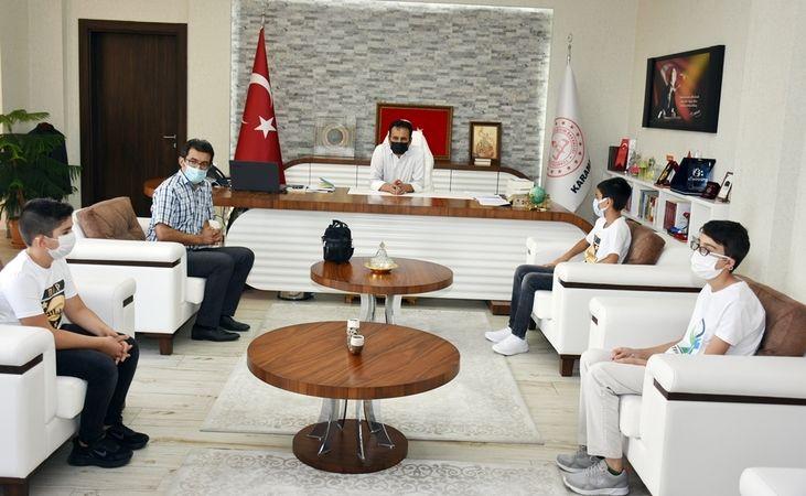 Zübeyde Hanım Ortaokulu Öğrencileri TEKNOFEST'te Karaman'ı Temsil Edecek