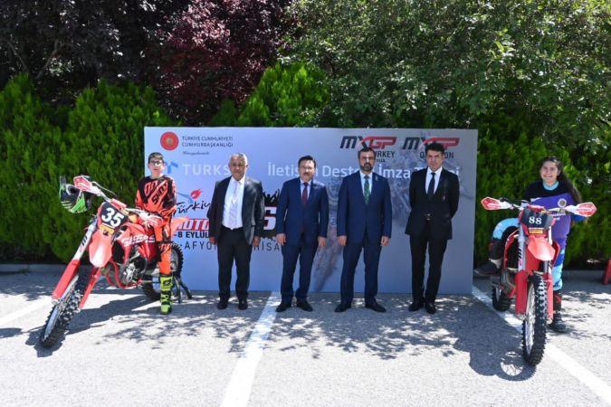 Türksat'tan 'Dünya Motokros Şampiyonası'na iletişim desteği