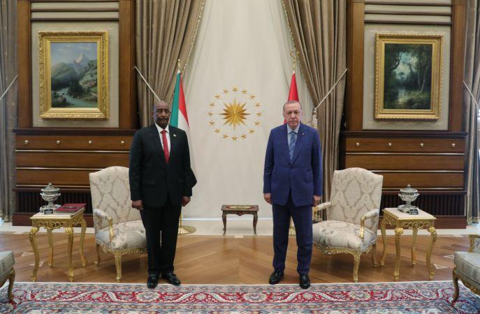Sudan Egemenlik Konseyi Başkanı Orgeneral Abdulfettah el-Burhan Türkiye'de