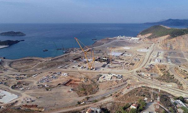 Akkuyu Nükleer Güç Santrali 4. ünitesinin inşasına başlandı