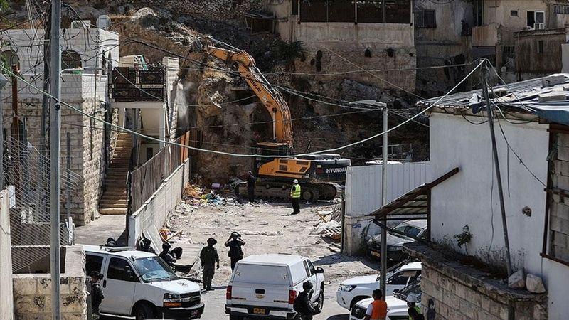 İsrail, Doğu Kudüs'te Filistinlilere ait 81 binayı yıktı