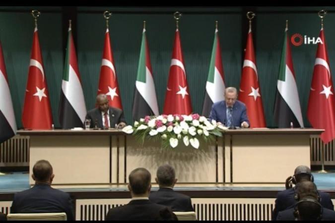 Türkiye ile Sudan arasında 6 anlaşma imzalandı