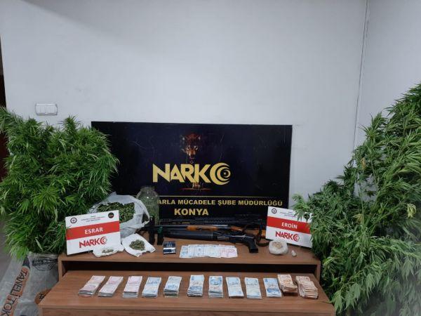 Uyuşturucu operasyonu! 8 şüphelinin 6'sı tutuklandı