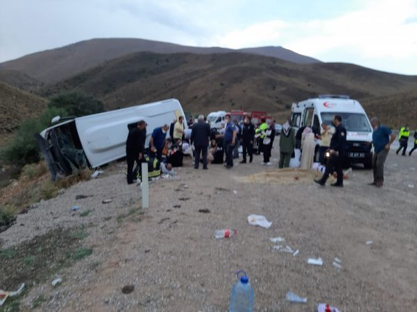 Kayseri'de korkunç kaza