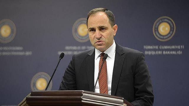 """""""Yunanistan Dışişleri Bakanlığınca yapılan açıklamayı yadırgıyor ve reddediyoruz"""""""