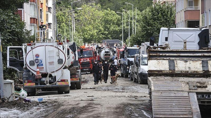 Karadeniz'deki sel felaketinde can kaybı 40'a yükseldi