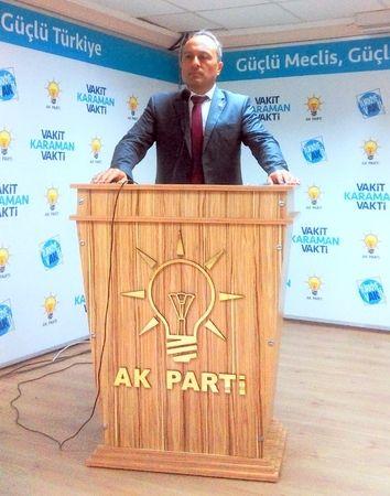 Şeref Kuku'dan AK Parti'nin 20. Yıl dönümü mesajı
