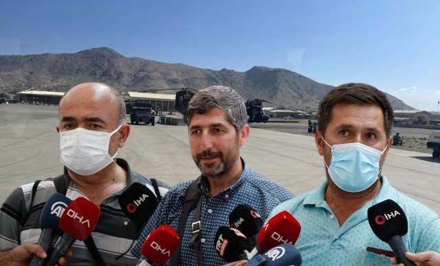 Afganistan'dan tahliye edilen Türkler konuştu