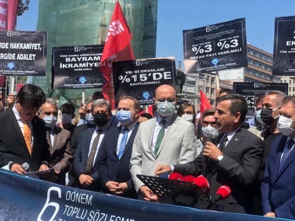 Türkiye Kamu-Sen'den 'memur maaşı zammı' açıklaması