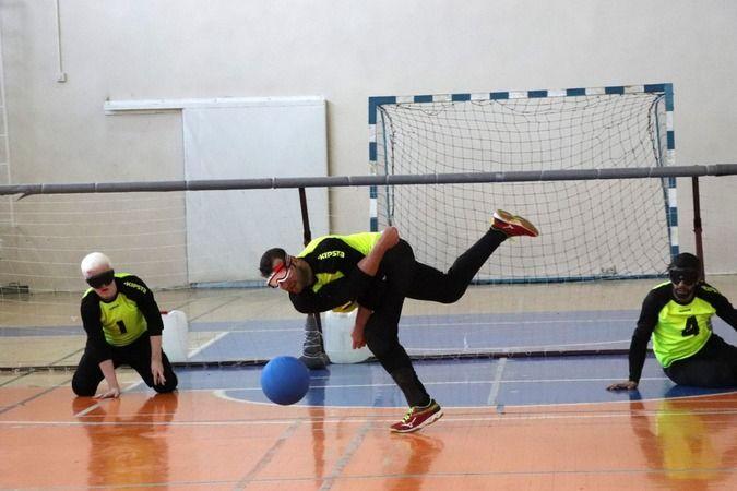 Goalball Yükselme Müsabakaları Karaman'da başlıyor