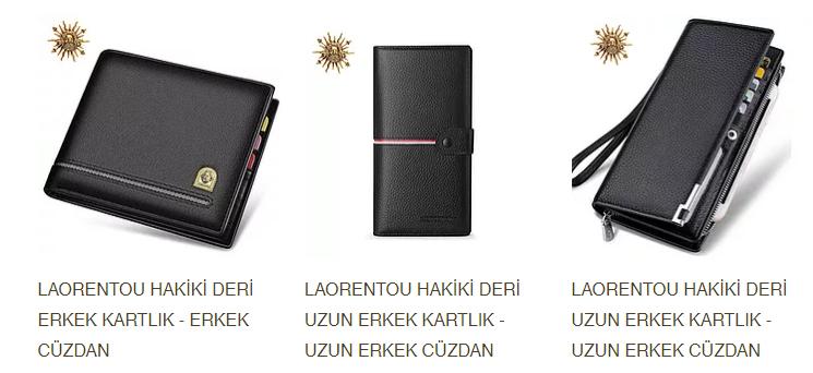 Laorentou Cüzdan ve Çanta Modelleri