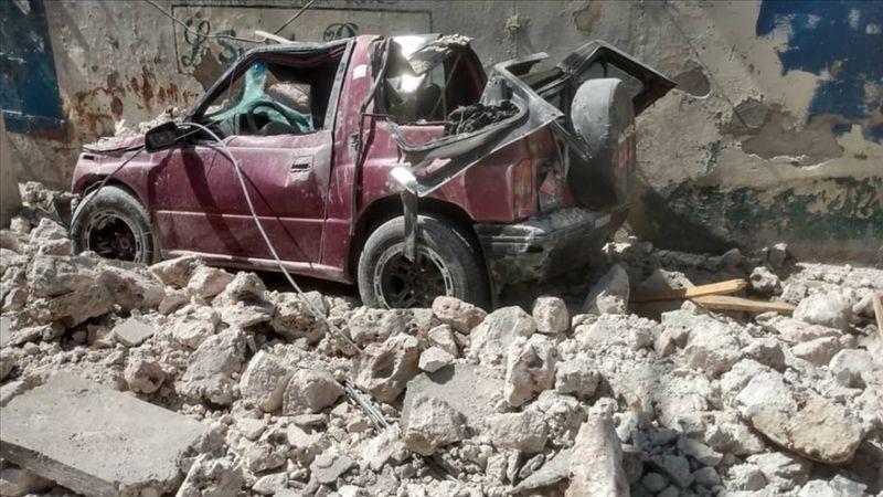Haiti'de meydana gelen depremde ölenlerin sayısı 1297'ye yükseldi