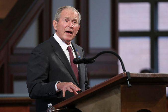 Eski ABD Başkanı Bush: 'Afganistan'da yaşanan trajik olayları derin bir üzüntüyle izliyoruz'
