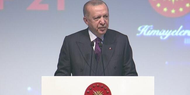 Cumhurbaşkanı Erdoğan: Dünyanın ilk 3-4 ülkesi arasında yer alıyoruz