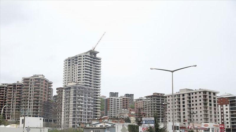 Belediyelerin yapı ruhsatı verdiği bina sayısı yılın ilk 6 ayında geçen yıla göre yüzde 88,4 arttı