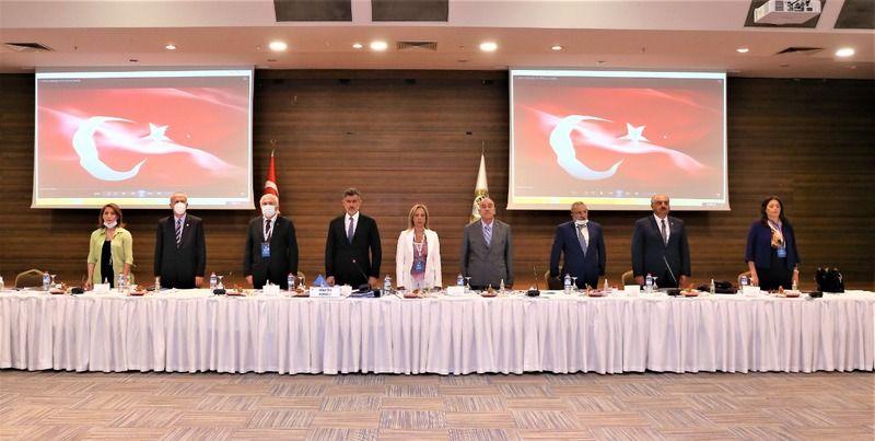 43. Baro Başkanlıkları Toplantısı TBB'DE gerçekleştirildi