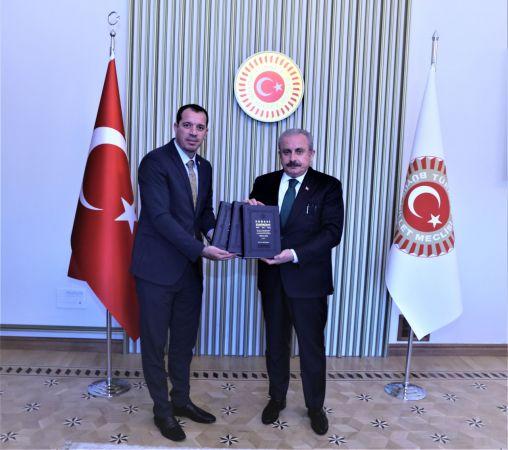 TBMM Başkanı Şentop'tan, 'Ermeni Terörizmi' kitabına ön yazı