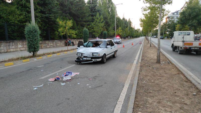 Konya'da otomobilin çarptığı yaya hayatını kaybetti
