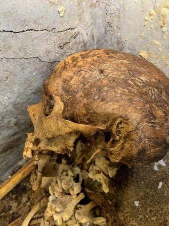 Pompeii'de 'şimdiye kadar en iyi korunmuş' insan kalıntıları bulundu!