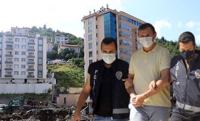 Selde çöken Ölçer Apartmanı'nın müteahhidi tutuklandı