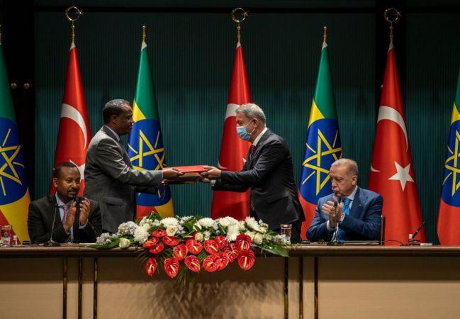 Bakan Akar, Etiyopya ile anlaşma