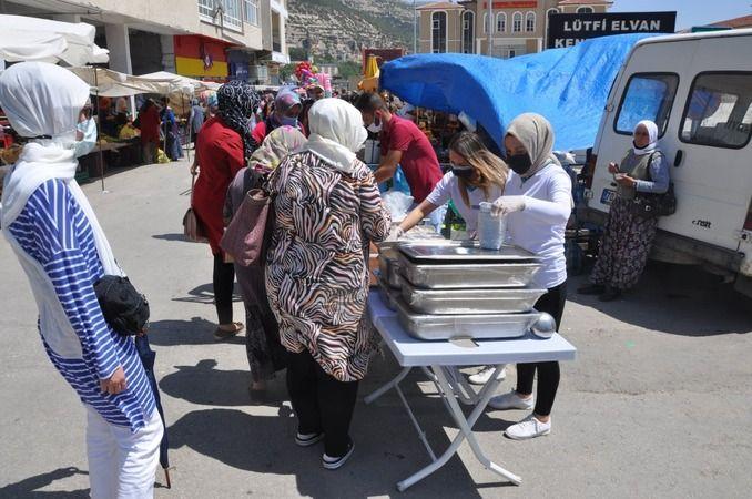 Ermenek Belediyesinden aşure ikramı