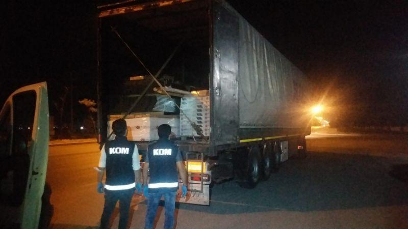 Konya'da kaçakçılık operasyonu: 13 milyon adet...