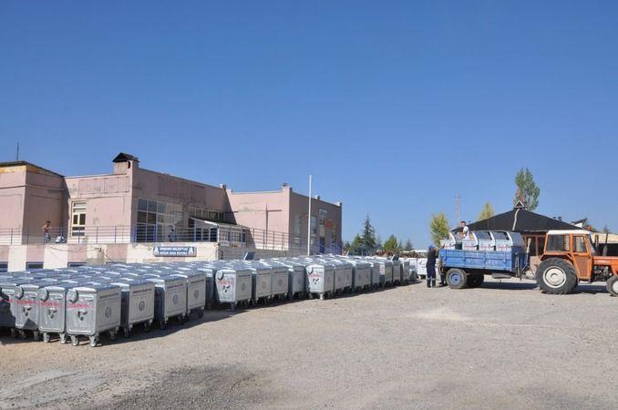 Ermenek'ten çöp konteyneri yeniliği