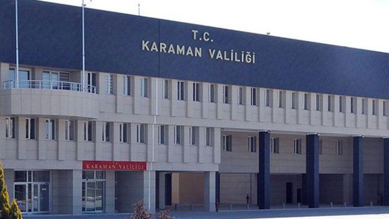 Valilik duyurdu: Karaman'da yeni koronavirüs yasakları