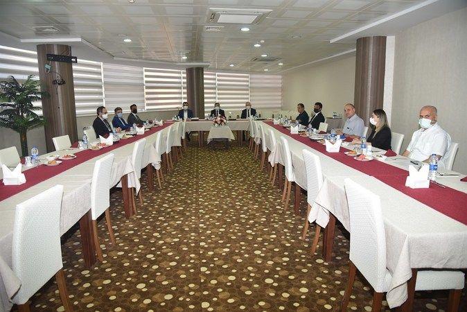 Teknopark Yönetim Kurulu Toplandı