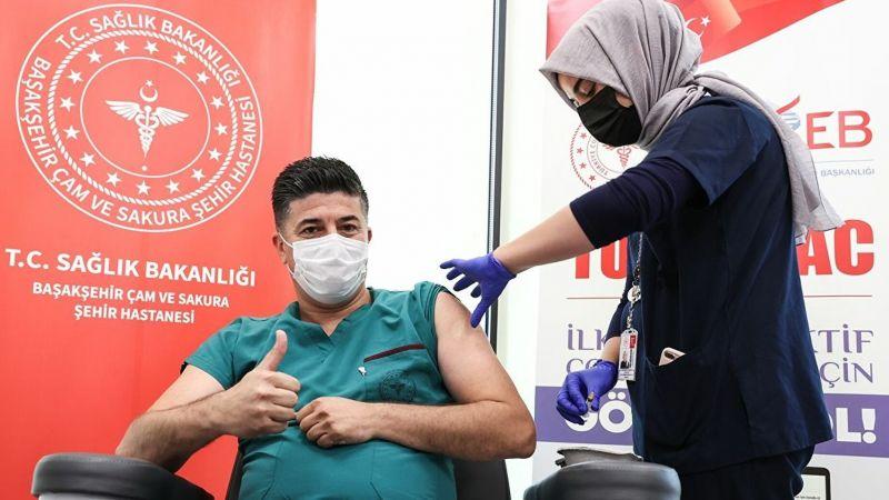 'TURKOVAC' aşısı, faz 3 çalışmaları gönüllülere uygulanmaya başlandı