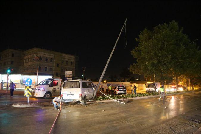 Konya'da itfaiye aracının karıştığı zincirleme kazada 6 kişi yaralandı