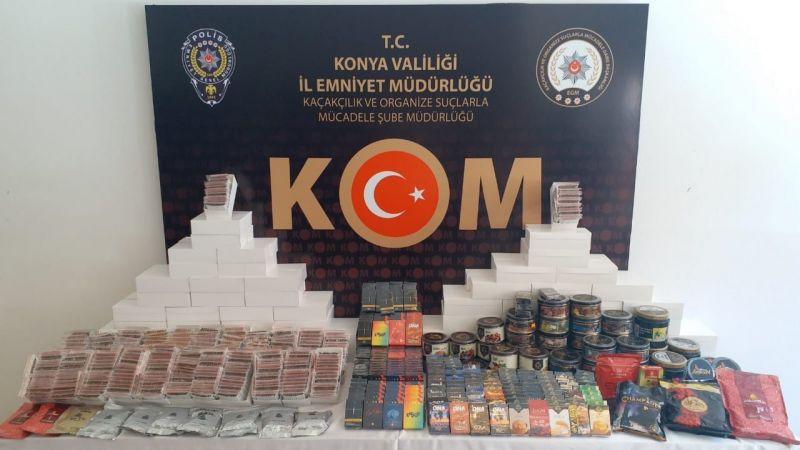 Konya'da ele geçirildi... Tam 29 bin 600 adet!