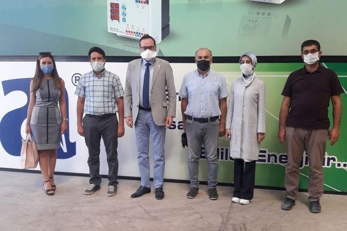 KMÜ Proje Teknoloji Transfer Ofisinden Azra Bisküvi'ye Ziyaret