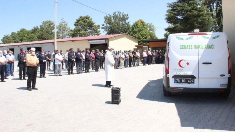 Koronadan hayatını kaybeden Karamanlı Gazi son yolculuğuna uğurlandı