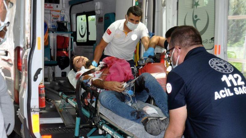 Karaman'da bir kişi, uğradığı silahlı saldırı sonucu yaralandı