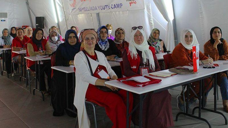 Türk Kızılay Kadın Teşkilatı Tematik Çalışma Kampı Tamamlandı