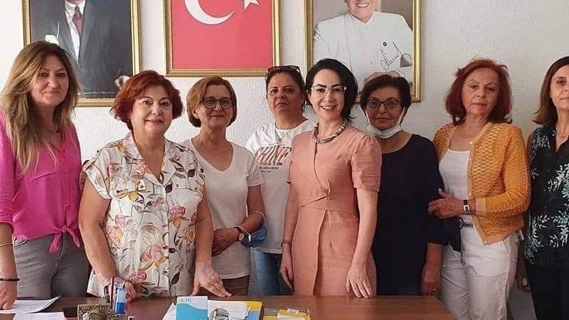 CHP VE İYİ PARTİLİ KADINLAR KARAMAN'DA BERABER ÇALIŞACAK