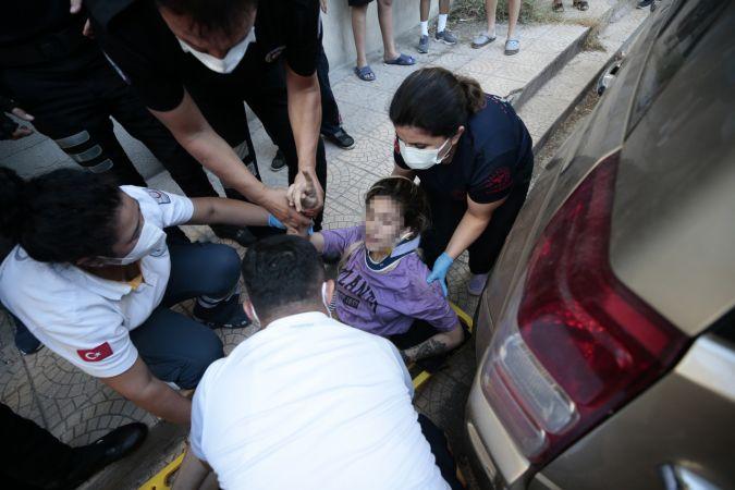 Antalya'da bir kadın zorla tutulduğunu söylediği evin penceresinden atladı