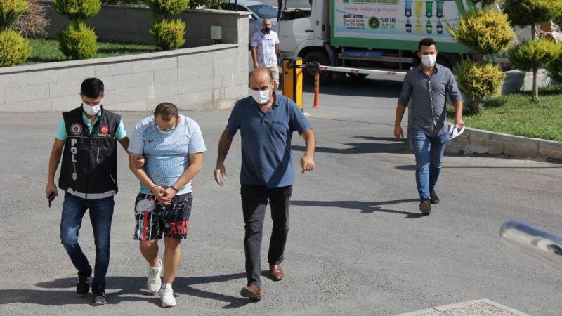 Karaman'da 725gr takoz esrarla yakalanan şahıs tutuklandı