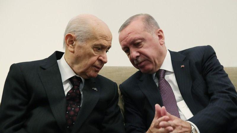 Erdoğan ve Bahçeli'nin verdiği ortak talimat