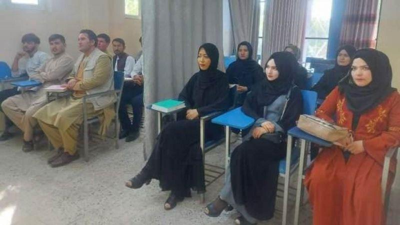 Afganistan'da yeni üniversite düzeni