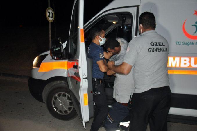 Karaman'da ambulansı kaçıran alkollü kişinin ehliyetine el konuldu