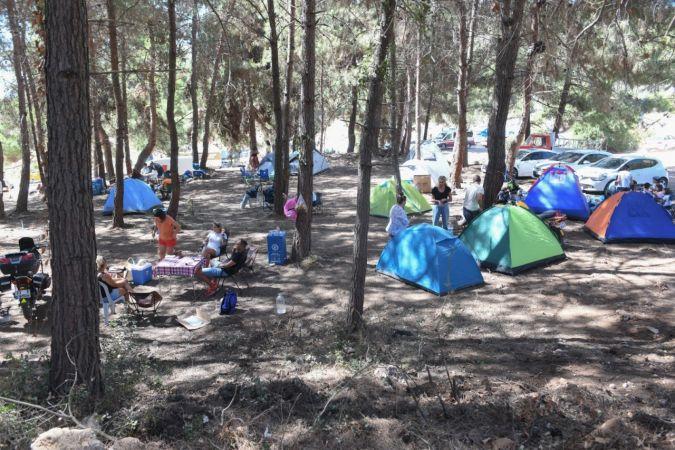 """Her yaştan kampçı yeni """"bi"""" kampta buluştu"""