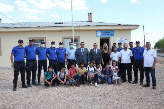 Cezaevi personelinin onardığı okul, 6 yıl sonra eğitime açıldı