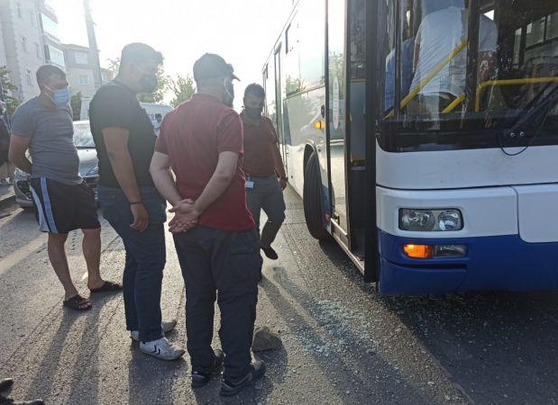 Belediye otobüsüne ateş eden şüpheli operasyonla yakalandı