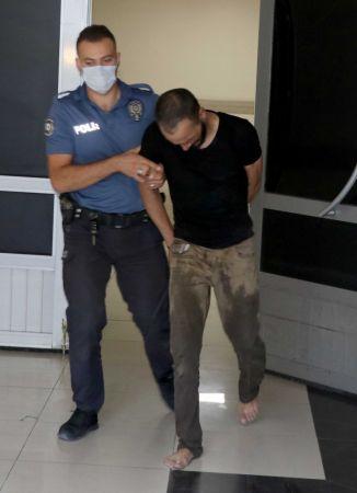 Eşi ve 3 çocuğunu rehin alıp evi yakmaya çalışan şüpheli serbest kaldı